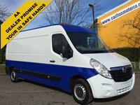USED 2012 62 VAUXHALL MOVANO F3500 L3H2 CDTI 125 [ Mess- Sleeper- Camper Unit ] Free UK Delivery