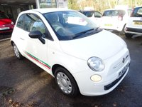 USED 2014 63 FIAT 500 1.2 POP 3d 69 BHP Low Mileage, Great on fuel! Only £30 Road Tax! Service History + Just Serviced by ourselves, One Lady Owner from new