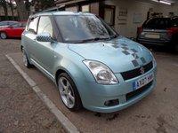 2007 SUZUKI SWIFT 1.5 GLX VVTS 5d AUTO 101 BHP £2495.00