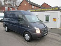 2013 FORD TRANSIT 2.2 350, MEDIUM WHEEL BASE, SEMI/HIGH ROOF, 125 BHP, 6 SPEED, AIR CON, PARKING SENSORS, ONE OWNER VAN, FULL DEALER HISTORY! EXCELLENT CONDITION £4850.00