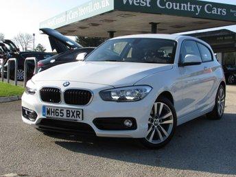 2015 BMW 1 SERIES 1.5 118I SPORT 3d 134 BHP £15000.00