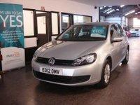 2012 VOLKSWAGEN GOLF 1.6 S TDI 5d 103 BHP £6495.00