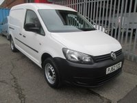 2013 VOLKSWAGEN CADDY MAXI C20 1.6 TDi 102PS LWB BLUEMOTION *ONE OWNER*SERVICE HISTORY* £SOLD