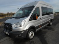 USED 2014 64 FORD TRANSIT MINIBUS 460 L4 H3 TREND 155ps 17-Seats Trend Model with a Tacho and Aircon
