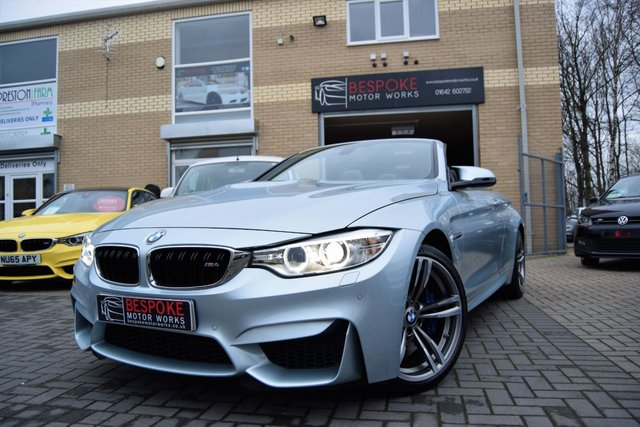 2014 64 BMW M4 3.0 TWIN TURBO CONVERTIBLE DCT