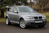 2007 BMW X3 2.0 D M SPORT 5d 148 BHP £7980.00