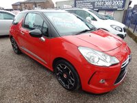 "USED 2011 61 CITROEN DS3 1.6 E-HDI DSTYLE PLUS 3d 90 BHP FULL SERVICE HISTORY, CHEAP ROAD TAX, 17"" ALLOY WHEELS"