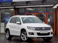 2014 VOLKSWAGEN TIGUAN 2.0 TDi R LINE BLUEMOTION TECHNOLOGY 4MOTION * Nav & Leather * £18499.00