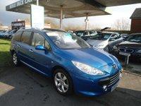 2007 PEUGEOT 307 1.6 SW SE 5d 108 BHP £2595.00