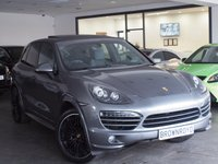 USED 2012 62 PORSCHE CAYENNE 3.0 D V6 TIPTRONIC 5d AUTO 245 BHP PAN ROOF+£12000 OF EXTRAS+FSH