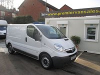 2013 VAUXHALL VIVARO 2.0 2900 CDTI  115 BHP SIX SPEED  ONE COMPANY OWNER LOOKS AND DRIVES SUPER CONDITION  FULL SERVICE HISTORY  SPARE KEY  £6995.00