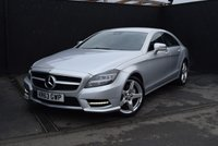 2013 MERCEDES-BENZ CLS CLASS 3.0 CLS350 CDI BLUEEFFICIENCY AMG SPORT 4d AUTO 265 BHP £21490.00