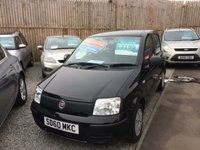2010 FIAT PANDA 1.1 ACTIVE ECO 5d 54 BHP £SOLD