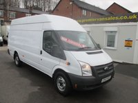 2012 FORD TRANSIT  350 JUMBO LONG CUBE   125 BHP SIX SPEED  TURBO DIESEL, BLUETOOTH,  2012 YEAR  FULL HISTORY TWO KEYS  SOLD WITH WARRANTY  £7000.00