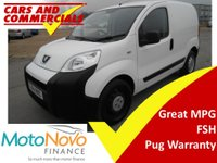 USED 2014 64 PEUGEOT BIPPER 1.3 HDI S 75ps
