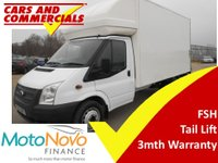 USED 2012 12 FORD TRANSIT LUTON 350 LWB EF 125ps [DRW] Tail Lift