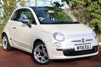 2010 FIAT 500 1.2 LOUNGE DUALOGIC 3d AUTO 69 BHP £5500.00