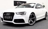 USED 2014 63 AUDI A5 4.2 RS5 FSI QUATTRO 2d AUTO 470 BHP **SPORTS EXHAUST-BLACK PACK**