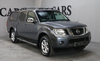 USED 2011 11 NISSAN NAVARA 2.5 DCI TEKNA 4X4 DCB 1d AUTO 188 BHP SALE PRICE IS PLUS VAT BUT RECLAIMABLE FOR ELIGIBLE USERS SAT NAV LEATHER TRUCKMAN TOP