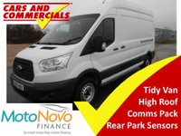 USED 2015 65 FORD TRANSIT LWB 350 L3H3 RWD 125ps