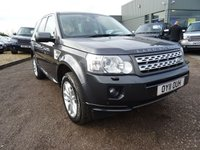 USED 2011 11 LAND ROVER FREELANDER 2.2 SD4 HSE 5d AUTO 190 BHP 1 PREVOIUS OWNER, 2 KEYS, 5 SERVICE HISTORY STAMPS