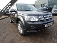 USED 2011 11 LAND ROVER FREELANDER 2.2 SD4 HSE 5d AUTO 190 BHP 1 PREVOIUS OWNER, 2 KEYS, 5 SERVICE HISTORY STAMPS  GREY SPORTS LEATHER TRIM, ELECTRIC MEMORY 3 STAGE SEATS, ALPINE SOUND, HEATED FOLDING MIRRORS, PIANO WOOD, TWIN SUNROOF, HEATED FRONT SEATS, 4WD SETTINGS, RADIO/STEREO/CD PLAYER, PDC, COLOUR SAT NAV, MANUAL PACK, TILT WHEEL ADJUSTMENT, CENTRE ARM REST, AUTO DIMMING MIRRORS, MULTI SPOKE ALLOY WHEELS, REAR LOAD COVER, OVERMATS, DRIVER'S TOOL KIT, AUTO LIGHTS, XENONS, HONEY COMB FRONT GRILLE, FRONT AND REAR FOGS