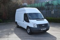 USED 2010 60 FORD TRANSIT 2.4 T350 RWD 5d 115 BHP LWB HIGH ROOF DIESEL MANUAL VAN  FULL SERVICE HISTORY,EURO 4 ENGINE