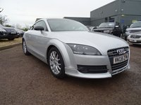USED 2008 08 AUDI TT 2.0 TFSI 3d 200 BHP 7 SERVICE STAMPS , CARBON FIBER ROOF,SPOILER AND MIRRORS