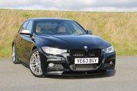 2013 BMW 3 SERIES 3.0 330D M SPORT 4d AUTO 310 BHP £23495.00