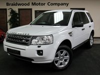 2011 LAND ROVER FREELANDER 2.2 TD4 GS 5d 150 BHP £11750.00