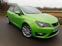2013 SEAT IBIZA 1.6 CR TDI FR 5d 104 BHP £6995.00