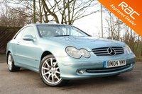 2004 MERCEDES-BENZ CLK 2.7 CLK270 CDI ELEGANCE 2d AUTO 170 BHP £4350.00