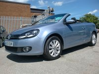 USED 2013 13 VOLKSWAGEN GOLF CONVERTIBLE 1.4 se 31,000 MILES FULL SERVICE HISTORY 1 OWNER