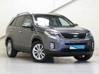 2014 KIA SORENTO 2.2 CRDI KX-3 SAT NAV AUTO 194 BHP 4WD [BEIGE LTHR] £21687.00