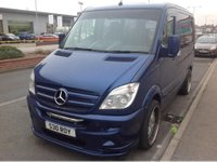 USED 2009 58 MERCEDES-BENZ SPRINTER 2.1 209 CDI SWB 1d 88 BHP Diesel, automatic, wheelchair adapted, 38000 miles
