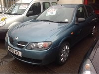 USED 2003 03 NISSAN ALMERA 1.5 S 3dr SUPERB, LOW MILAGE,