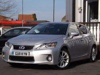 2011 LEXUS CT 1.8 200H SE-L 5d AUTO 136 BHP £10995.00