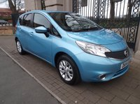 USED 2014 14 NISSAN NOTE 1.5 DCI ACENTA PREMIUM 5dr 90 BHP £ 0 FREE ROAD TAX AIR/CON BLUETOOTH PHONE CRUISE CONTROL PARKING SENSORS *** FINANCE & PART EXCHANGE WELCOME ***