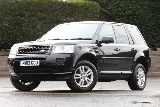 2013 13 LAND ROVER FREELANDER 2.2 TD4 BLACK AND WHITE 5d 150 BHP