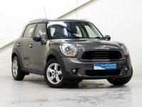 2013 MINI COUNTRYMAN 1.6 ONE 5d AUTO 98 BHP £10587.00