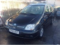 USED 2004 04 NISSAN ALMERA 2.2 dCi SE 5dr DIESEL MPV ONLY 60000 MILES