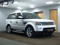 USED 2011 11 LAND ROVER RANGE ROVER SPORT 3.0 TDV6 HSE 5d AUTO 245 BHP LUXURY EDITION
