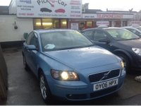 USED 2006 06 VOLVO S40 2.0 SE D 4d 135 BHP WAS £3995 SAVE £300