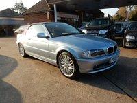 2003 BMW 3 SERIES 2.0 318CI 2d 141 BHP £3490.00