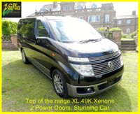 USED 2004 53 NISSAN ELGRAND XL 3.5 4WD  Automatic 7 Seats +STUNNG ELGRAND XL WITH ONLY+49K+4WD+TOP OF THE RANGE!+