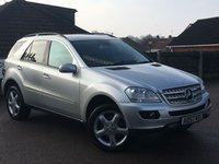 2007 MERCEDES-BENZ M CLASS 3.0 ML280 CDI EDITION S 5d AUTO 188 BHP £11995.00
