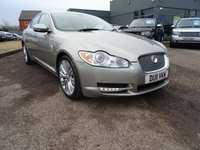 USED 2011 11 JAGUAR XF 3.0 V6 PREMIUM LUXURY 4d AUTO 240 BHP 1 OWNER 5 SERVICE STAMPS SAT NAV CRUYISE CONTROL STUNNING LOOKING CAR