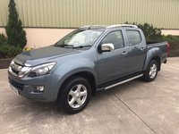 USED 2014 63 ISUZU D-MAX 2.5 TD UTAH VISION DCB 1d 164 BHP 3.5 TON TOWING CAPACITY, LEATHER, REVERSE CAMERA, LINER, TOWBAR