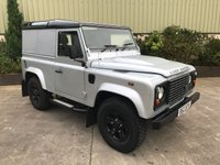 USED 2008 58 LAND ROVER DEFENDER 90 DEFENDER 90 2.4 90 COUNTY HARD TOP 1d 122 BHP HEATED SEATS, REMOTE LOCKING, CONTRAST BLACK ROOF, NEW TYRES, BLACK BOOST ALLOYS