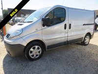 USED 2011 11 RENAULT TRAFIC 2.0 SL29 DCI 115 BHP SWB WITH AIR CON + ELECTRIC PACK 66063 MILES